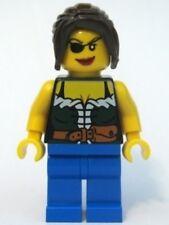 LEGO 6253 - PIRATES - Female, Blue Legs - MINI FIG / MINI FIGURE