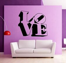 Wall Stickers Vinyl Decal Love Relationship Lovers Romantic ig991