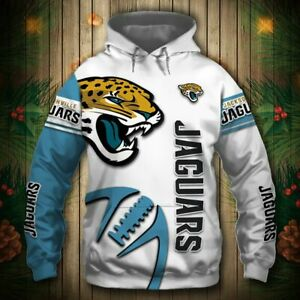 Jacksonville Jaguars Footbball Hoodie Casual Hooded Sweatshirt Pullover Jacket