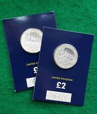 2019 D-DAY LANDINGS D Day 2 Pound Coin £2 Change Checker Card BUNC