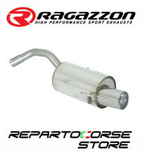 RAGAZZON SCARICO TERMINALE ROTONDO ALFA ROMEO 147 2.0 SELESPEED 2000>10/2006