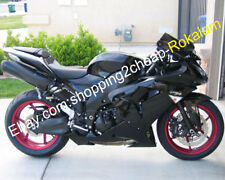 For Kawasaki Ninja ZX-10R 2006 2007 ZX10R 06 07 ZX 10R Full Black Fairing Kits