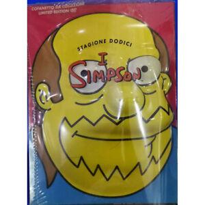 The Simpson Season 12 DVD Limited Edition Mask / 20th Century Fox Sealed