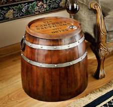 Wine Barrel Table Side Sofa Chair Furniture Staves Hoops Cabernet Sauvignon