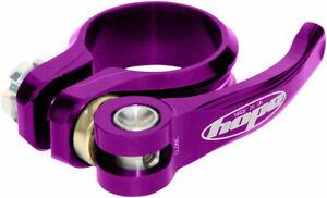 Hope Seat Seatpost Clamp - 31.8mm, Purple, QR