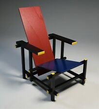 Miniature Chair Gerrit Rietveld Vitra Museum Art Deco Modernism 1900's Mint NOS