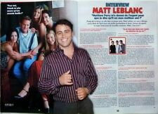 MATT LEBLANC (TV Series FRIENDS)  => 2  pages 2004 FRENCH CLIPPING