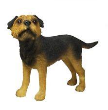 Border Terrier Dog Figurine Ornament By Leonardo Collection