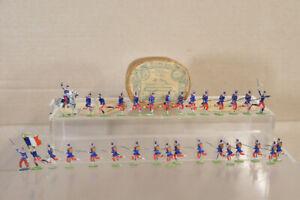ERNST HEINRICHSEN NURNBERG c 1882 FRENCH SOLDIERS ATTACKING BOXED oa