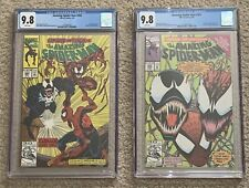 Amazing Spider-Man #s 362 & 363 Both CGC 9.8 WHITE Pgs 2nd/3rd App Carnage Movie