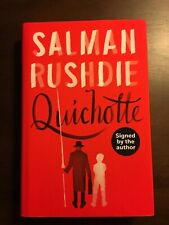 Quichotte by Salman Rushdie, SIGNED, 1st Edition, 1st Printing UK HC