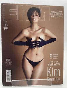 Fhm Magazine Philippines 198 January 2017 Kim Domingo  us seller back issue