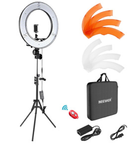 Neewer LED Ring Light 18 Inch Ring Lamp Photo light ring for YouTube makeup