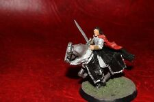 Warhammer Lord of the Rings  Mounted Aragorn (gondor) Metal (painted)