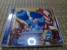 Rockman X5 Magaman x5 PS1 Sony PlayStation 1 Tested Work 2