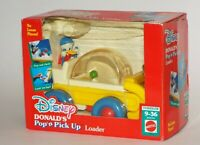Disney Donald's Pop'n Pick Up Loader Toddler 9-36 Months Mattel 1992 NIB