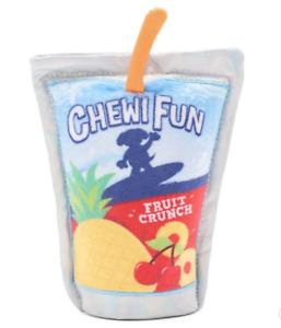 NWT Bark Box BARK Juice Pouch Dog Toy Capri Sun Junk Food Collection