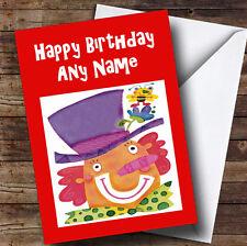 FUN Kids CLOWN personalizzato bambini compleanno auguri carta