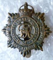 Badge- WW1 Royal Army Service Corps Cap Badge (All BRASS*, Genuine)