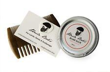 Green Sandalwood Beard Comb & Balm