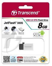 Lecteurs flash USB Transcend USB 2.0, 8 Go