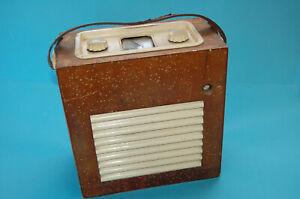 Rare McMichael Radio Ltd -Valve Radio in wooden case- Circa 19 - Model 483