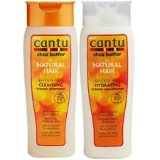 Cantu Shea Butter Cleansing Cream Pflege Shampoo + Hydrating Cream Conditioner