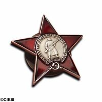 Order of The Red Star Russian Badge WW2 Soviet Military Combat Pin USSR Repro