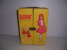 Vintage 1964 Skipper Barbie's Little Sister Doll Carrying Case