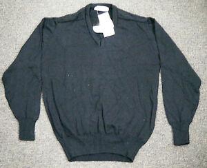 Vintage c1990 NOS Mens Australian made Wool Jumper - Fitwear size 18