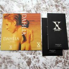 X Japan DAHLIA 8cm Single Japan 2CD AMDM-6150