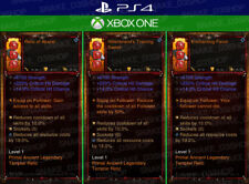Diablo 3 - PS4 - Xbox One - PRIMAL Modded Follower Relics