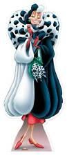 CRUDELIA DE VIL 101 Dalmatians Disney GRANDEZZA NATURALE