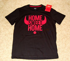 Li Ning DWADE Home Sweet Home T-shirt AHSM205-3 Black Men's Medium New With Tags