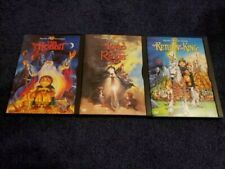 The Lord of the Rings Animated Dvd Trilogy Lotr/Return of the King/Hobbit