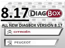 DIAGBOX 8.17 SOFTWARE INSTALL SERVICE LEXIA 3 PEUGEOT PLANET-CITROEN DIAGNOSTIC