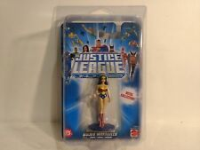 Justice League Unlimited Wonder Woman Figure Metal Collection Mattel 2004 t1338