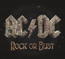 AC/DC ~ Rock Or Bust NEW SEALED CD Hologram Cover ** Damaged Case **