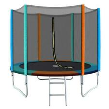 Everfit TRAMPOB8FTMC 8ft Round Trampoline with Ladder & Safety Net