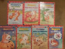 FLUFFY lot of 7 books by Kate McMullan The Classroom Guinea Pig