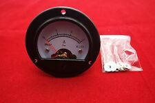 1pc AC 0-3A Round Analog Ammeter Panel AMP Current Meter Dia. 66.4mm DH52