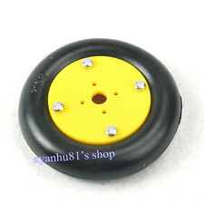 20KG Load Rubber Wheel For Servos Aluminum Mobile Robot Smart Car Platform Tire