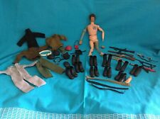 VINTAGE 1970S ACTION MAN ATOMIC MAN WITH LOTS ACCESSORIES JOB LOT