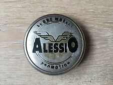 1X Alessio Sport Roues Roue Alliage Centre Hub Cap Emblem badge plastique