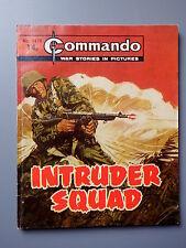 R&L Commando Comic Number 1479 Intruder Squad, Vintage British Boys Comic