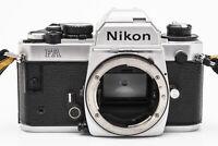 Nikon FA SLR Kamera analoge Spiegelreflexkamera silber Gehäuse