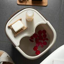 Foot Spa Bath Tub Plastic Bucket Cover Bump Massage Tub Toes Pedicure Fatigue