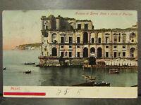 cpa italie italia napoli naples palazzo di donna anna e punta di posilipo