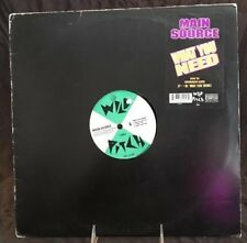 "MAIN SOURCE -""WHAT YOU NEED"" b/w ""MERRICK BLVD""-12"" WILD PITCH RECORDS # Y-58092"