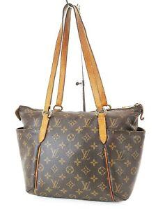 Auth LOUIS VUITTON Totally PM Monogram Canvas Tote Shoulder Bag Purse #36855